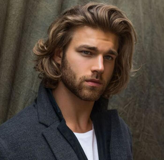 Messy Bob For Long Hair Men For Long Hair Men Mens Hairstyles Medium Medium Length Hair Men Long Hair Styles Men