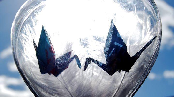 Inspiration saint valentin origami grue