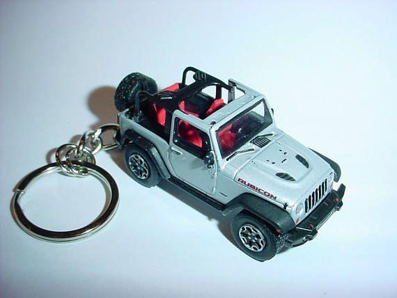 3D Jeep Wrangler Rubicon X custom keychain by Brian Thornton