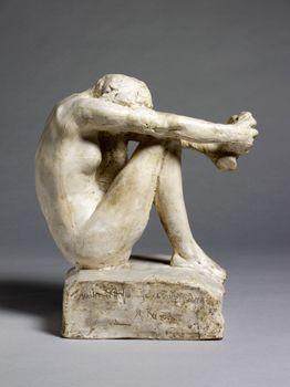 """Despair""  Auguste Rodin - so powerful"
