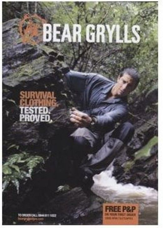 Go Directly to Bear Grylls Clothing Site  NEW! Bear Grylls Gerber Knife See Below!    Bear Grylls is one of the most extreme mainstream outdoor survivalists and he does not take second best when it comes to his gear. If you are looking for Bear...