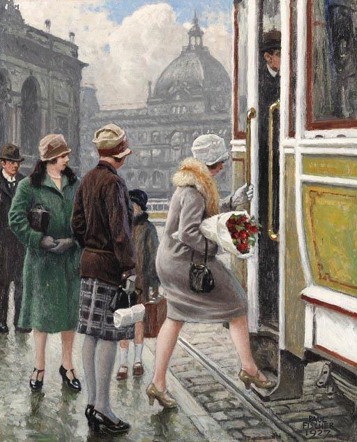 Paul Gustav Fischer [1860-1934]