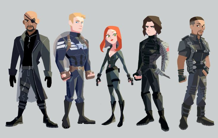 Capitan America - The Winter Soldier - visit to grab an unforgettable cool 3D Super Hero T-Shirt!