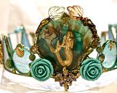 Art Crown - Magic Waters- One of a kind Piece -