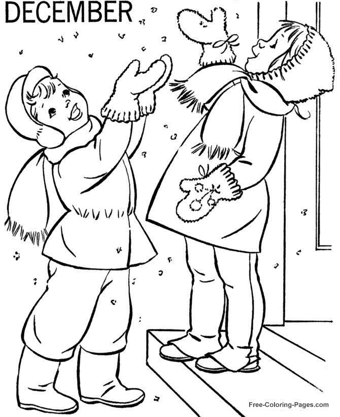 161 best winter images on Pinterest Coloring sheets Coloring