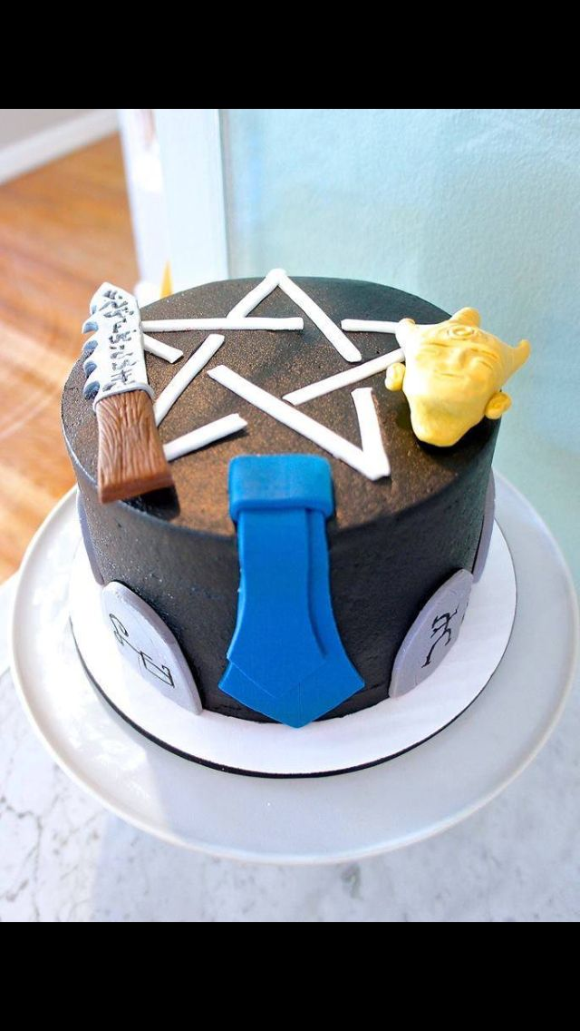 Supernatural Cake Site Pinterest