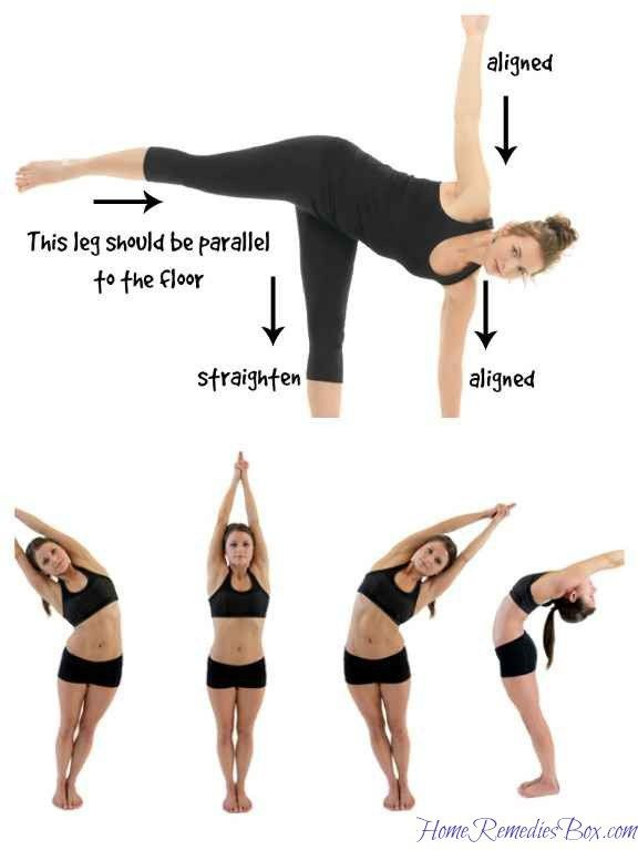 half moon yoga to reduce breast size | Reduce breast size ...
