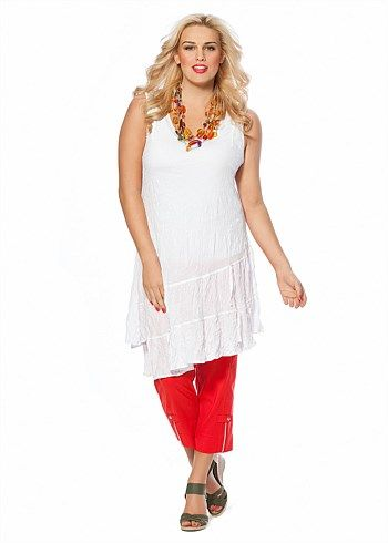 #TS14+ Escape Tunic #plussize #curvy
