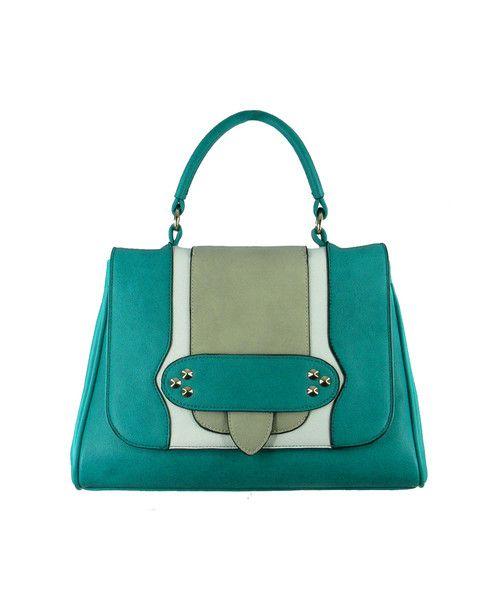 Trio Stud Panel Bag $119.95 #leethal #accessories #fashion