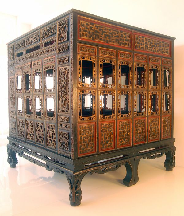 chinese beds | Straits Chinese Bed, Malaysia, Mid 19th C.