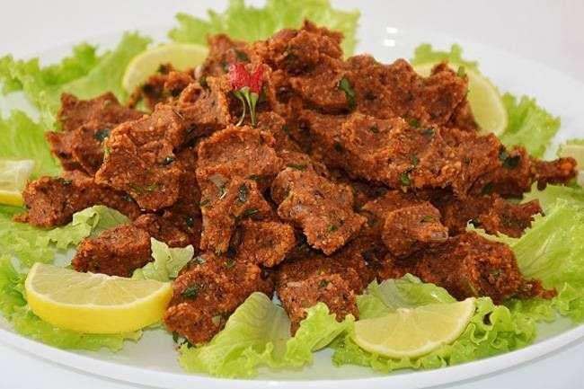 Çiğ köfte tadında mercimekli köfte tarifi
