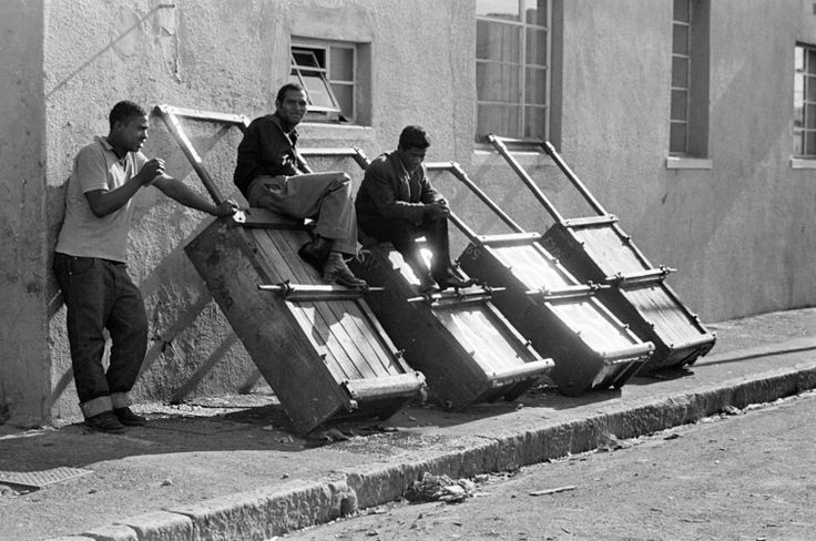 Hawkers barrows District 6, Cape Town