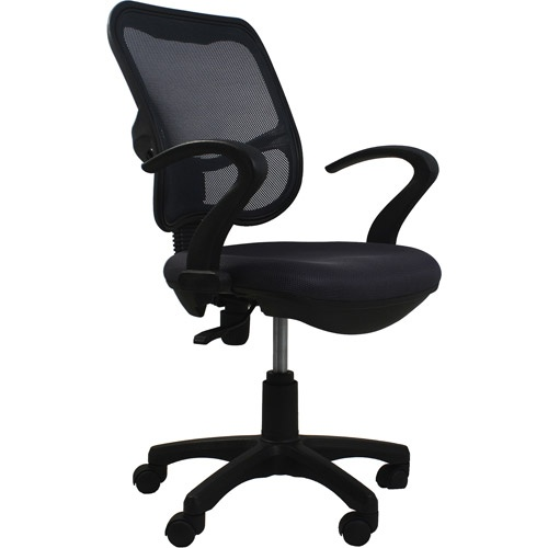 Wonderful Phoenix Task Chair With Arms, Blue Or Dark Gray