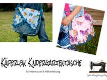 Ebook: Käferlein Kindergartentasche Schnittmuster