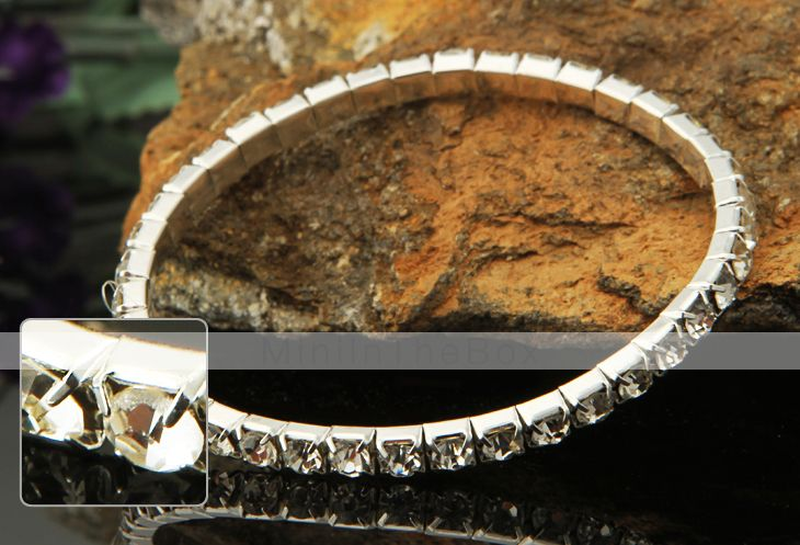 lureme cristais fileira simples de jóias pulseira elástica de 851378 2016 por…