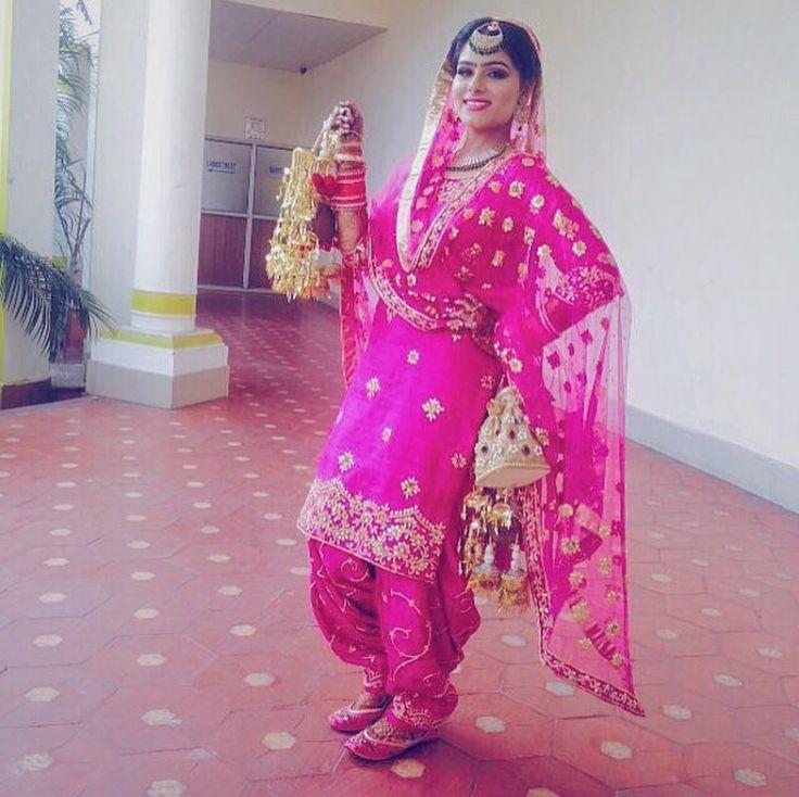 beautiful party wear punjabi suit . visit us www.facebook.com/... for purchase query whatsapp +917696747289 Pinterest : @Nivetas Design Studio Design Studio