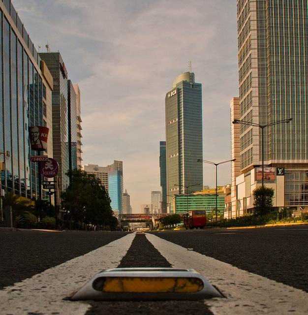 Lebaran 2011, Gondangdia, Jakarta, DKI Jakarta, ID