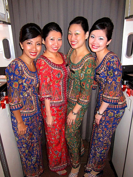 The flight attendants on Singapore Airlines are the nicest you will ever meet