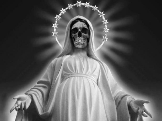 oraciones a la Santa Muerte blanca