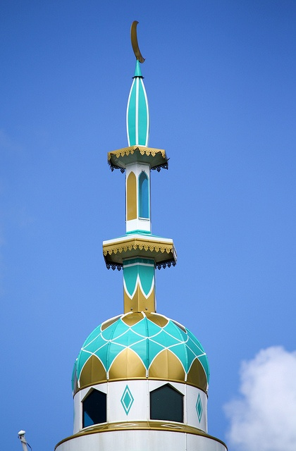 Mosque's Minaret in Mauritius (http://www.facebook.com/BeautyOfMauritius)