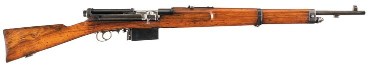 Rare Swiss Mondragon Model 1908 Semi-Automatic Rifle