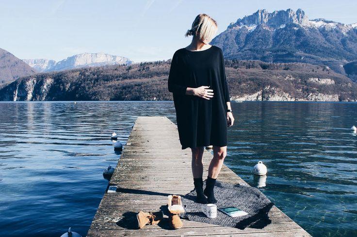"""L'histoire de Joli Bump commence en 2015. Enceinte de ma fille, je ne parvenais pas à trouver de vêtements correspondant à ce que je recherchais, confortables et chics, avec de belles coupes et de belles matières, des vêtements que je pourrais porter pendant ma grossesse mais également après mon accouchement """"... - w/ littleboho.fr"""