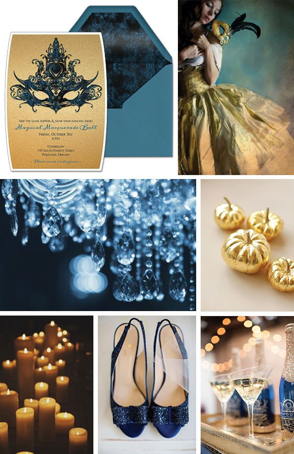 Help us choose a theme for our Halloween photo shoot! Like or repin your favorite Halloween mood board from the Halloween Haunted Fairytales board and we will tally up the winner. This theme is Magical Masquerade Ball, inspired by Cinderella.