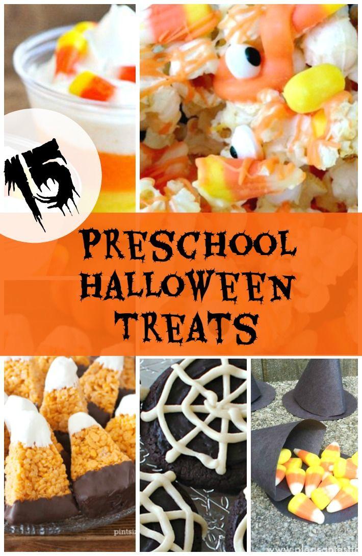15 preschool halloween treats