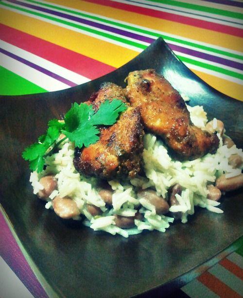 Pollo in salsa Jerk con riso alla giamaicana | Chiarina in Cucina