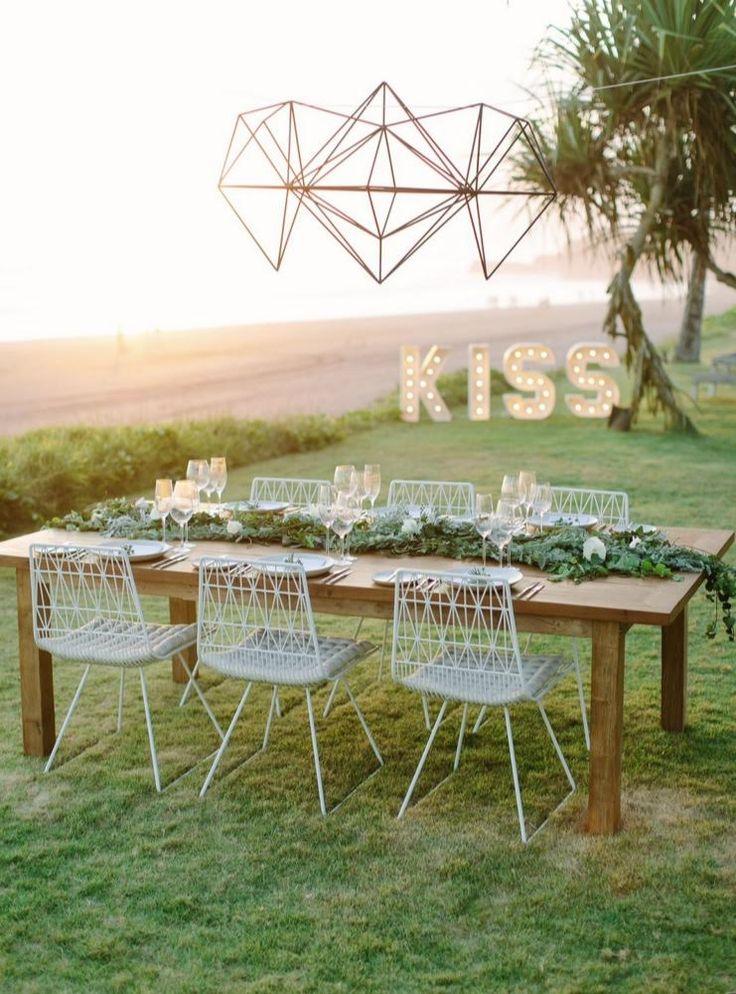 243 best bali wedding decor inspo images on pinterest bali paper diamonds kiss letterlights mexi chairs sunset bali wedding bali event junglespirit Images