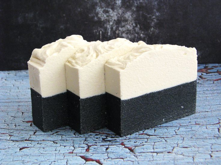 "Sea Salt and Charcoal Soap. Known as ""Detox"" Soap.                                              One of my favorite soaps once a week... New and Improved Recipe, it will be available on mid January"