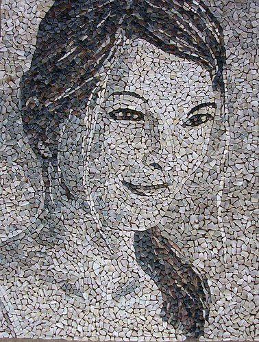 """mosaico-114 """" Sonrisa"""" (14-01-12) (48x64cm.)"""