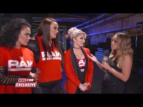 Alexa Bliss, Nia Jax, Tamina Interview Survivor Series 2018