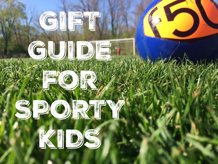 Great gift ideas for active kids who love sports.