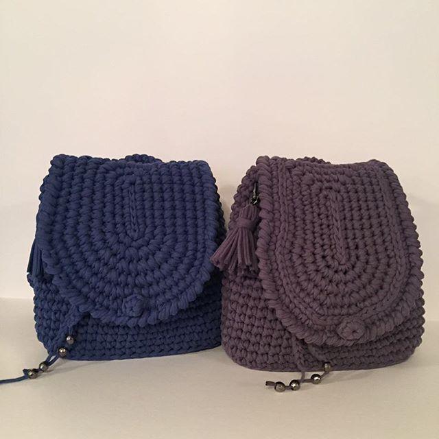 Рюкзачки из #пряжалиана от @made_by_chigisheva