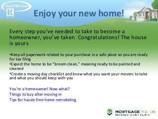 Buying Your First Home: A Reality Checklist