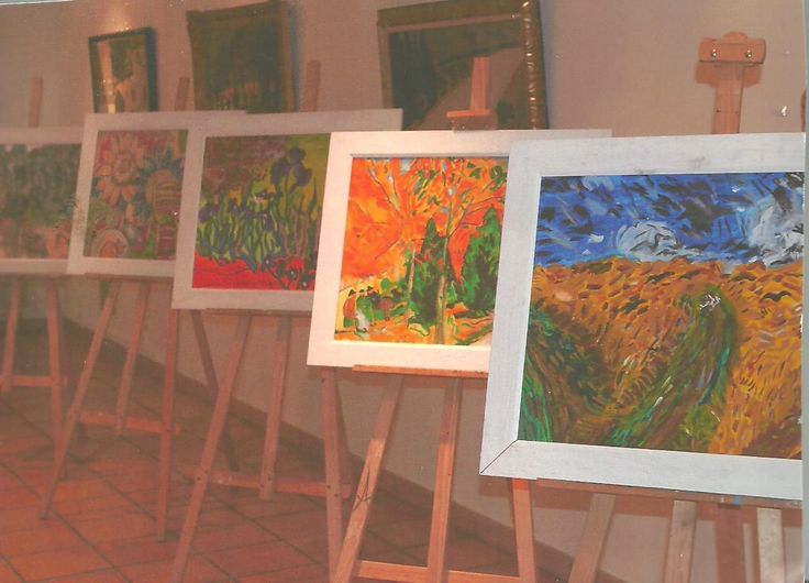 Peintures de Vincent Van gogh faites par J.B. d'HERA - Le Press-Book de J.B. d'HERA Artiste Peintre Poète