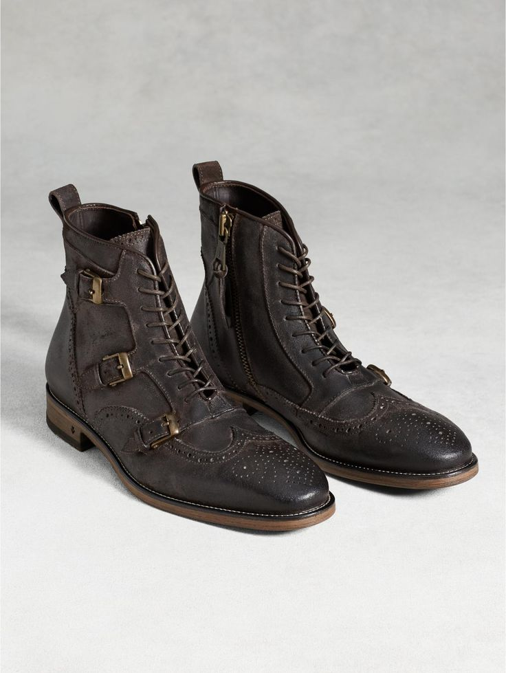 Laced Monk Boot - John Varvatos