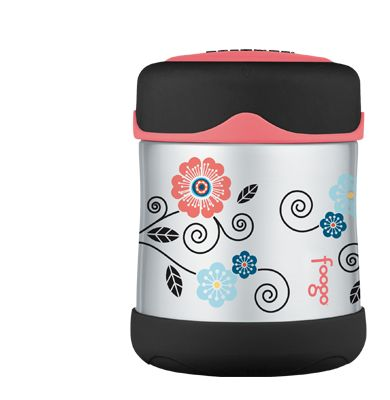 Poppy Patch Foogo® Vacuum Insulated Food Jar