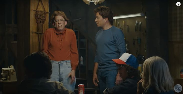 Barb from Stranger Things Spinoff in 2017 via Jimmy Fallon Tonight Show