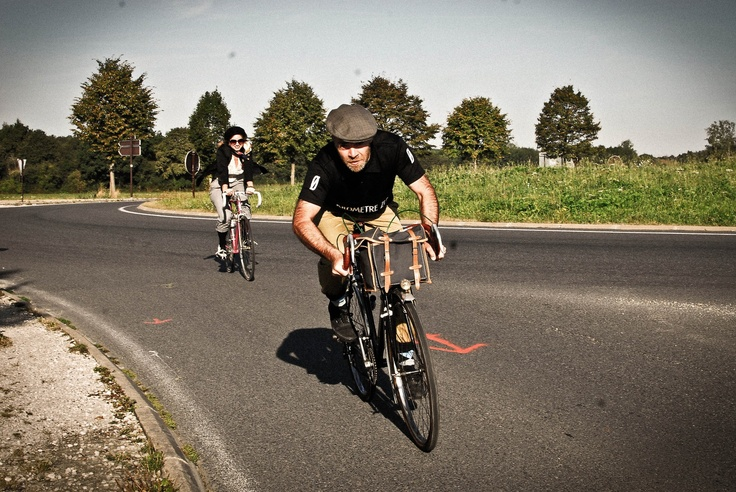 Nicolas Pounkky, active member of the Rock'N'Rollin Cycling Team and #bike addict.