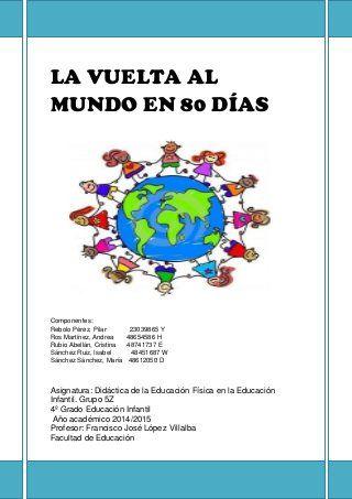 La vuelta al mundo en 80 dias_Educación Física en Educación Infantil