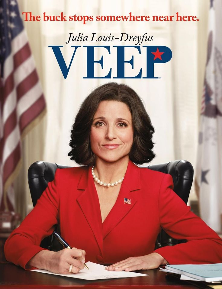 Veep  Julia Louis-Dreyfus is a godess.