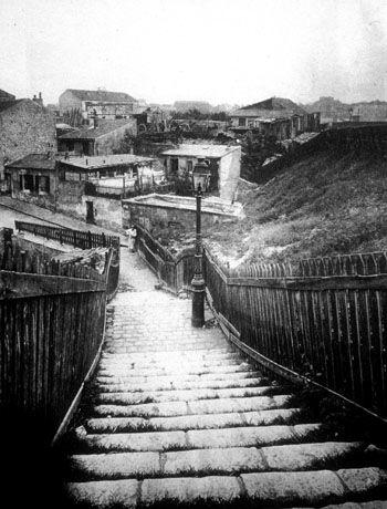 Eugene Atget Rue de la Colonie, 1900 Fotografía,