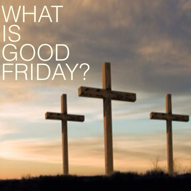 #GoodFriday what is it about? #ProjectInspired