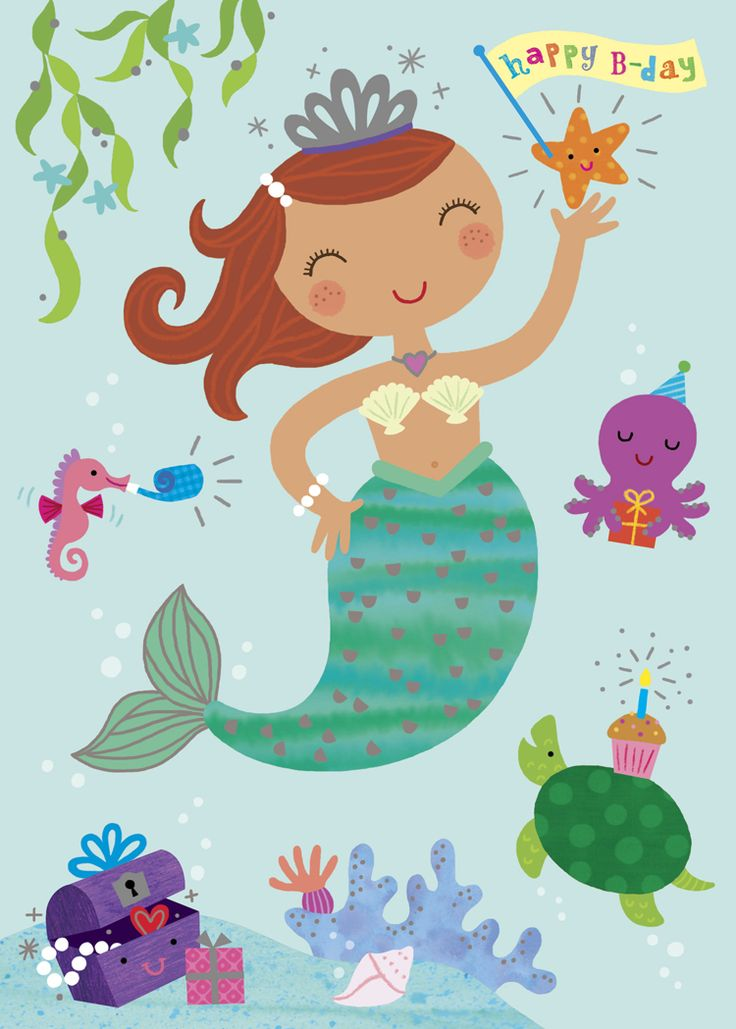 MERMAID birthday - Google Search