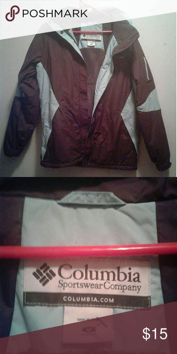 Columbia coat Size medium Columbia coat. Good condition. Columbia Jackets & Coats Puffers