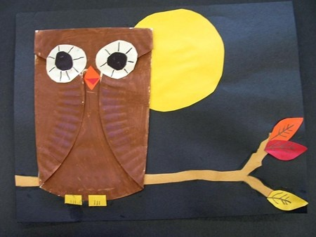 Alyssa4113's art on Artsonia: I thought this would be a great activity to decorate the room for a brownie investiture ceremony.