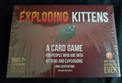 Exploding Kittens: A Card Game About Kittens and Explosions and Laser Beams