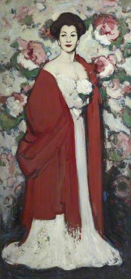 The Red Shawl by John Duncan Fergusson, 1908
